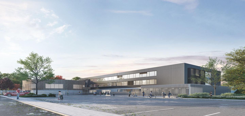 Reconstruction du collège de Fontoy en Moselle