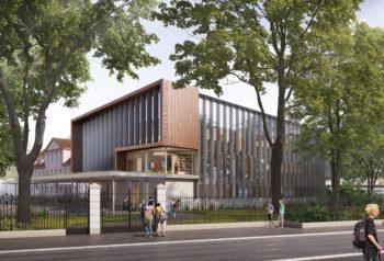 collège Kennedy à Mulhouse - Formats Urbains Architectes