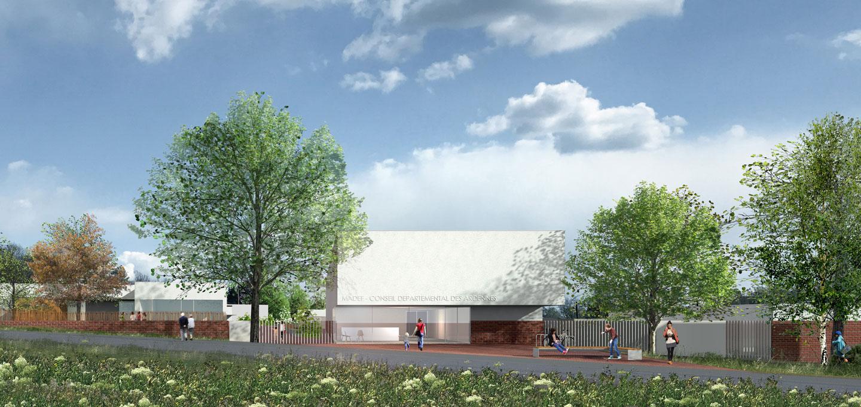 Maison départementale de l'enfance et de la famille - Ardennes - KL architectes