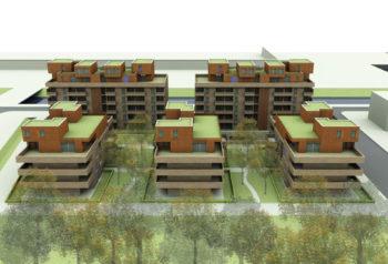 logements collectifs plateau de Haye - Nancy