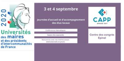 CAPP GE présent à l'Université des Maires des Vosges
